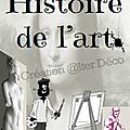 page de garde Histoire de l'Art