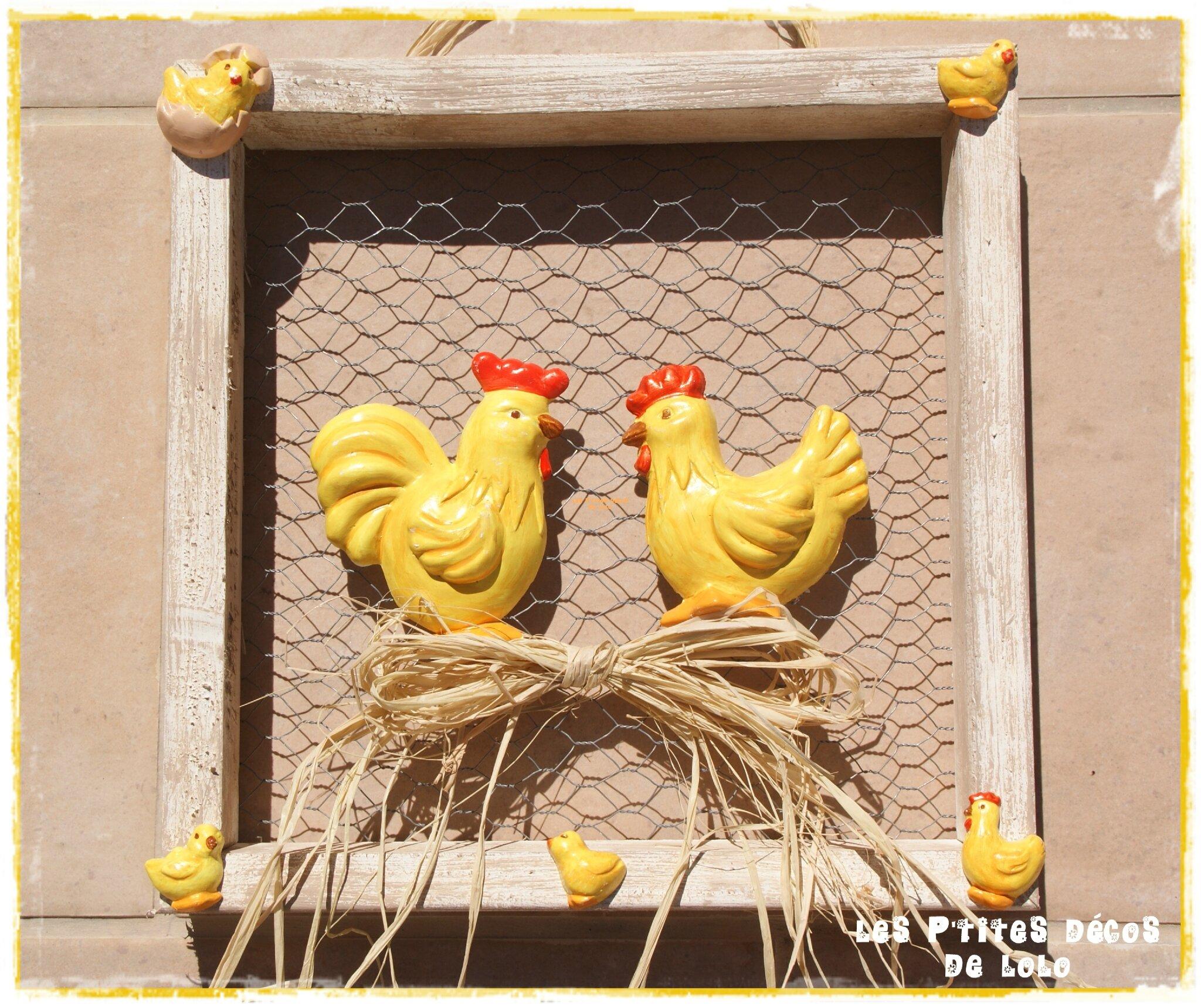Cadre poules