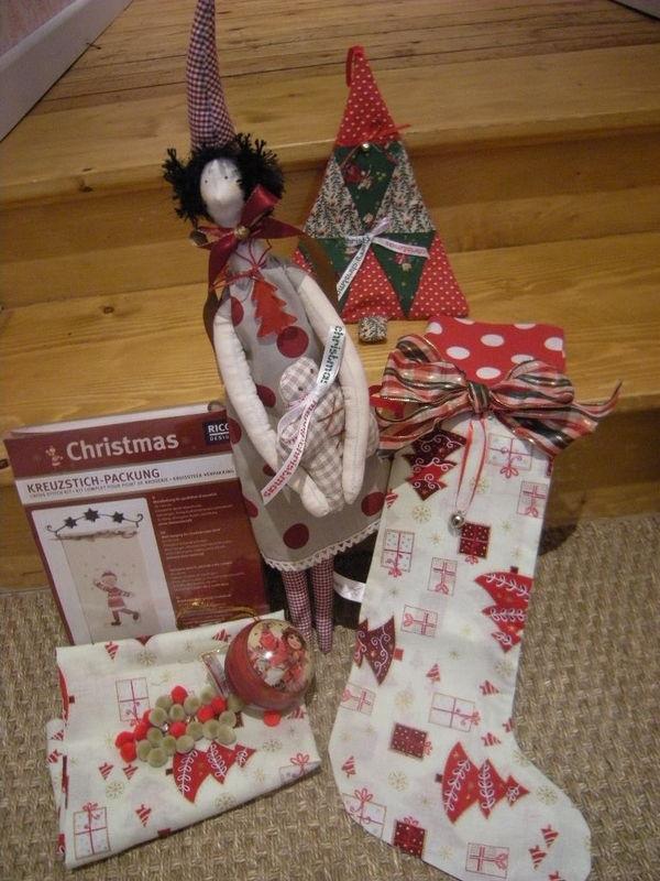 Swap de Noël...Pour Lunéa