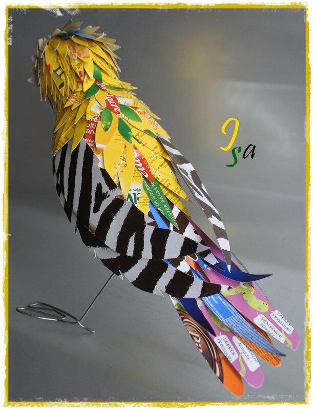 Bird cardboard 3