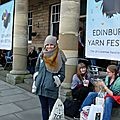 Back from edin yarn fest 2017...