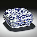 Wanli blue and white porcelains at sotheby's, london, 11 may 2011