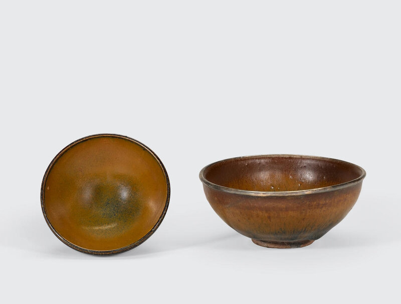 Two glazed stoneware bowls, Song dynasty (960-1279)
