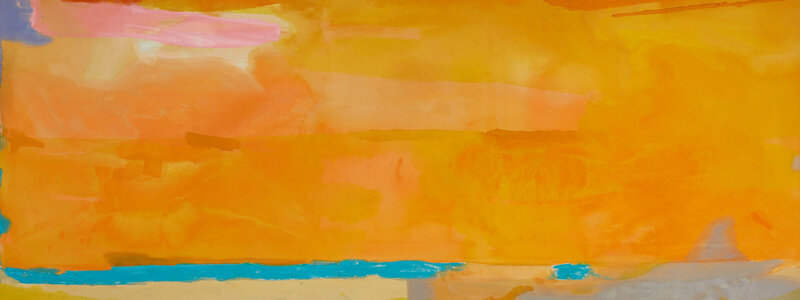 Lot 2 - Helen Frankenthaler, Royal Fireworks