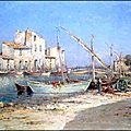 Animation_du_port_de_Martigues__Henry__MALEFROY
