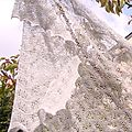 Japanese Feather - Silver Stole