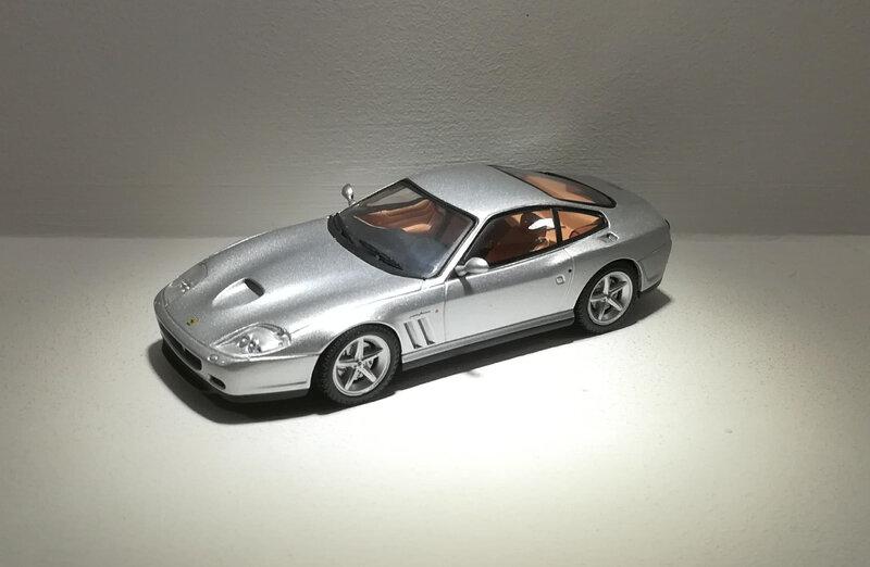 Ferrari 575 M Maranello (Presse)