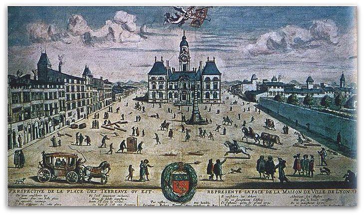 Lyon place des Terreaux z