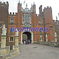 Mon top 10 londres royal: n°3: hampton court