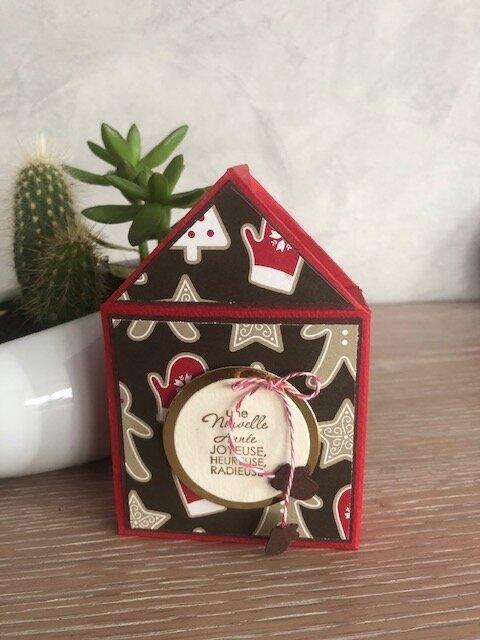 Boîte maison chocolats offerte à Géraldine L