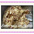 Cookies sales oignons/lardons/sesame