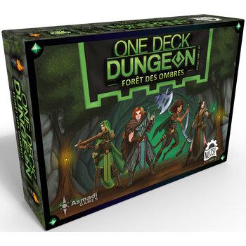 Boutique jeux de société - Pontivy - morbihan - ludis factory - One deck dungeon la forêt des ombres