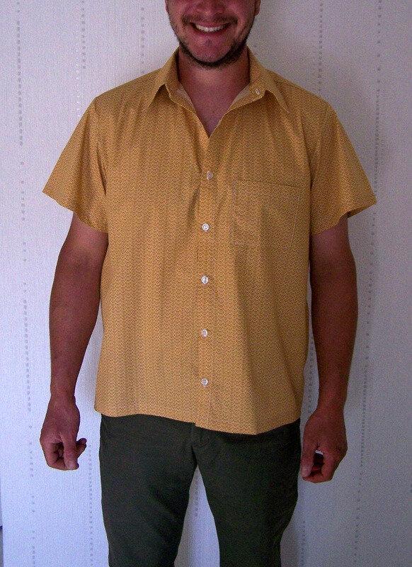 Chemise jaune (3)