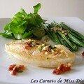 Vinaigrette tiède pour poisson blanc, sans gluten et sans lactose