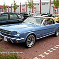La ford mustang convertible 289 (offenbourg)