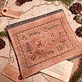 A prairie christmas in pepin 1871 pouch