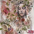 Tableau portrait de monica .....