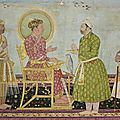 Jahangir offers jewels to asaf khan, india, deccan, probably golconda, late 17th century