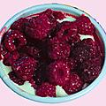 Frais à faire et à manger : le tiramisu framboises ;o)