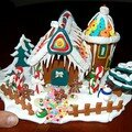 Maisons de Noël - Framboizine