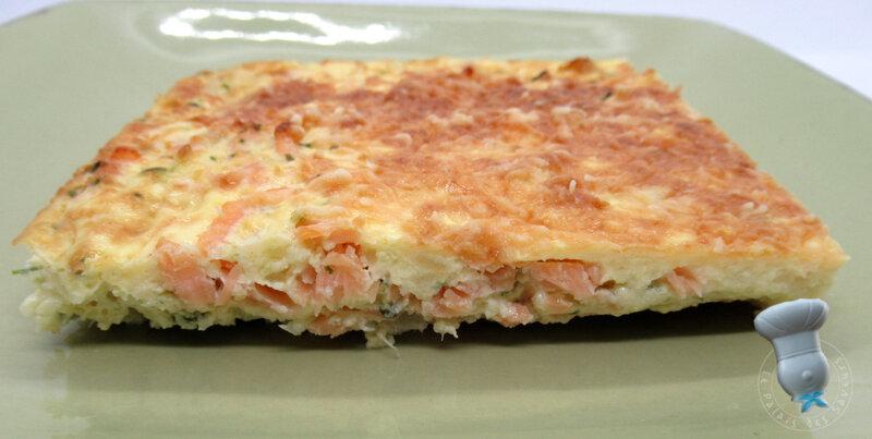 Flan chou-fleur saumon