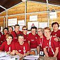 230 bénévoles au château: le blog au coeur de l'armée rouge