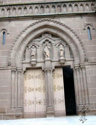 2_église paroissiale Espalion_portique