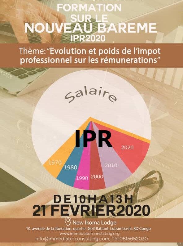 Formation sur le nouveau barème IPR : évolution et incidence sur le net à payer