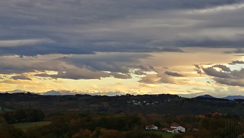 Villefranque, route de cimes, novembre (64)
