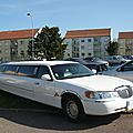 Lincoln town car united states coachworks limousine 1998