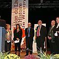 La remise du Prix du Livre d'Histoire de la ville de Woippy