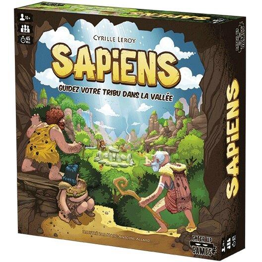 Boutique jeux de société - Pontivy - morbihan - ludis factory - Sapiens