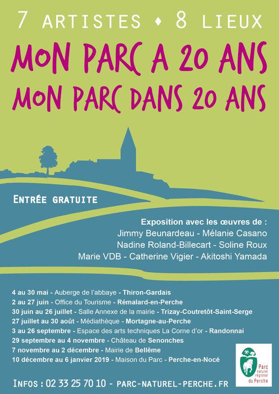Afiche Mon Parc a 20 ans