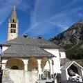 L'église saint-claude de val-des-prés - vallée de la clarée (briançonnais)
