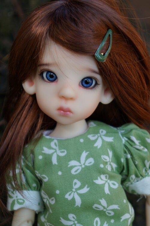 Le retour d'une petite nouvelle ! Mini Lyla de Kaye Wiggs .