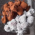 Cuisine: truffes veganement délicieuses