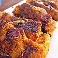 Poulet croustillant et sa sauce sucrée salée