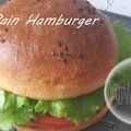 Pain hamburger ( au thermomix )