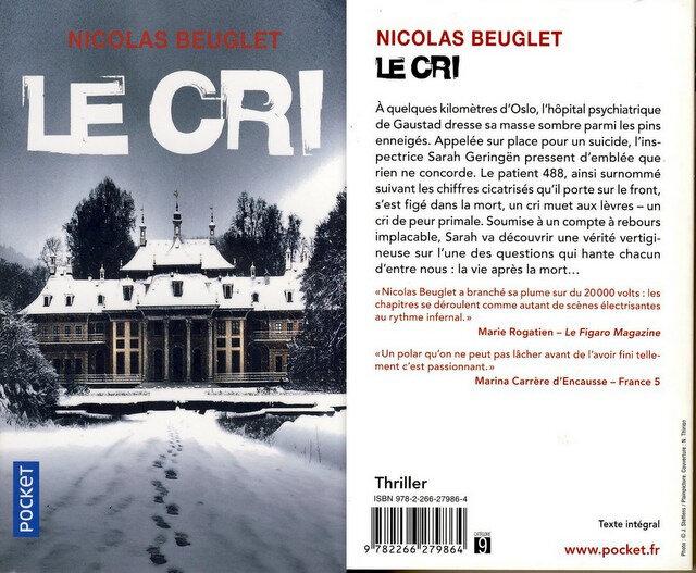 3 - Le cri - Nicolas Beuglet