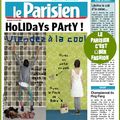 Le parisien = very important paper