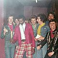 Backstage - the strombolis with chuck berry