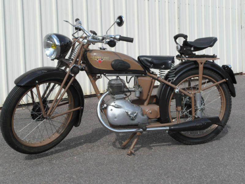 motoconfort 125 cc de 1950 moto pr sent e lors exposition auto moto r tro passion. Black Bedroom Furniture Sets. Home Design Ideas