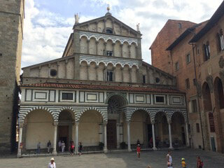 Toscane Nord Pistoia Duomo Façade