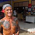 Nuku Hiva homme tatou