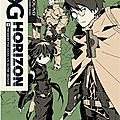 Log horizon, tome 1 - extraits