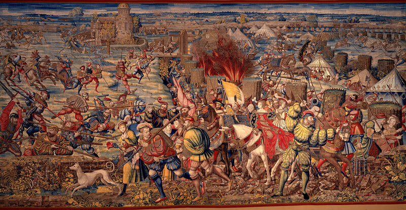 Orley-Battle-of-Pavia