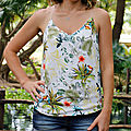 Top leila tropical