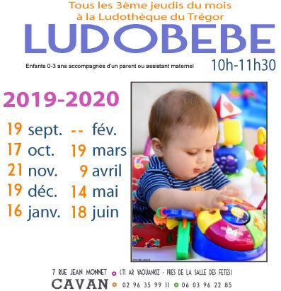 AFFICHE LUDOBEBE 2019-2020