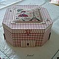 Voici ma boite à bijoux en cartonnage