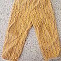 Pantalon à taille élastiquée pour fille - les intemporels pour enfants